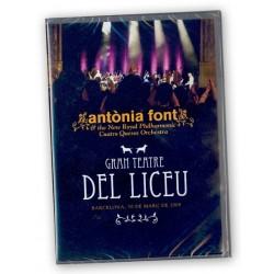 DVD Antònia Font al Liceu