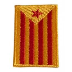 Brodat estelada roja rectangular
