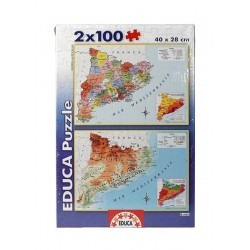 Puzzle Mapa Catalunya