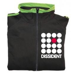 Jaqueta xandall negra Dissident