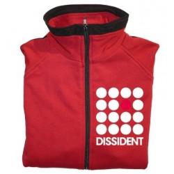 Jaqueta xandall vermella Dissident