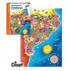Joc Comarques de Catalunya Diset