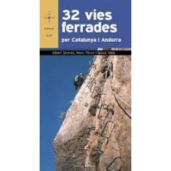 Llibre 32 vies ferrades per Catalunya i Andorra