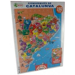 Joc 150 Comarques Catalunya Educa