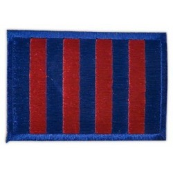 Brodat blaugrana rectangular