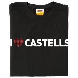 Samarreta I love castells