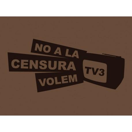 Samarreta solidària No a la censura, volem TV3!