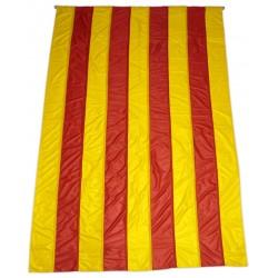 Bandera catalana - senyera gegant tipus màstil estampada