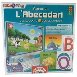 Joc Educa multimedia Aprenc... l'abecedari