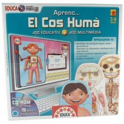 Joc Educa multimedia Aprenc... el cos humà