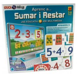 Joc Educa multimedia Aprenc a... sumar i restar