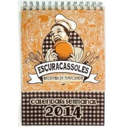 """Escuracassoles"" 2014. Receptari de temporada-calendari"