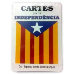 Baralla de cartes per la independència