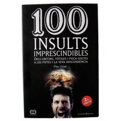Llibre 100 insults imprescindibles