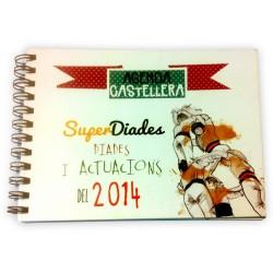 Agenda Castellera il·lustrada 2014
