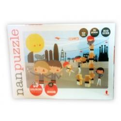 """Trencaclosques-Puzzle """"Nanpuzzle"""", de El Nan Casteller"""