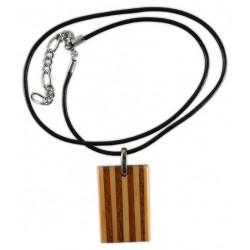 Penjoll de fusta senyera vertical