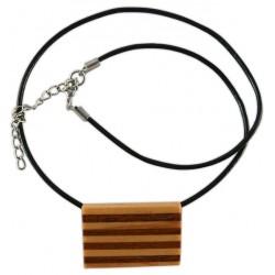 Penjoll de fusta senyera horitzontal