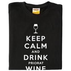 Samarreta Keep calm and drink priorat wine