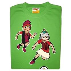 Samarreta infantil CFRD - Nanos jugant futbol