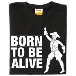 Samarreta unisex Born to be alive