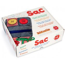 El joc d'en SAC, per aprendre a vestir-se, de Kidnelis