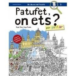 Llibre Patufet, on ets? Per pintar