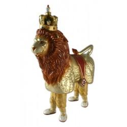 Figura de goma reproducció del lleó de Reus