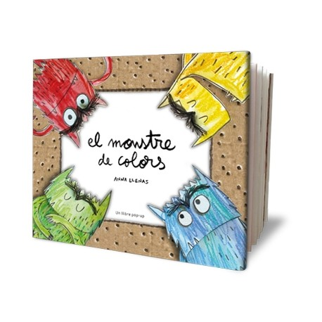Llibre El monstre de colors pop-up