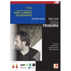 Entrada concert Roger Mas St Llorenç de  Morunys