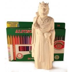 Kit per pintar la Figura de goma del Gegant de la Vila de Sitges