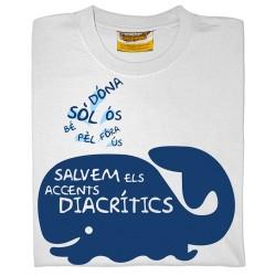 Samarreta NOIA Salvem els accents diacrítics