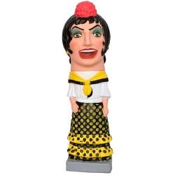 Figura de goma reproducció Nana Gitana Zingarel·la de Vilafranca