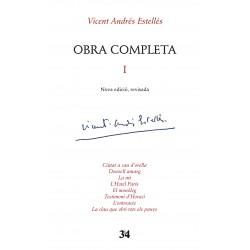 Llibre Vicent Andrés Estellés - Obra completa I