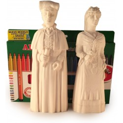 Kit per pintar les Figures de goma de la PARELLA de Gegants de Molins de Rei