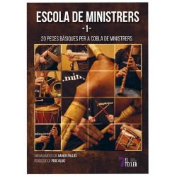 Llibre Escola de Minstrers 1 - 20 peces bàsiques per a cobla de ministrers