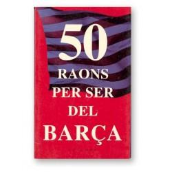 Llibre 50 Raons per ser/no ser del Barça
