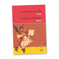 Llibre La comèdia de l'olla / El metge a garrotades