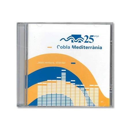 CD Cobla mediterrània - 25 anys