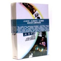 Llibre+4 CD + 2 DVD Picap 20 anys