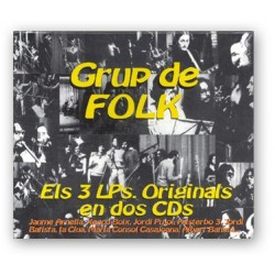 Doble CD Grup de Folk 3 LP originals en 2 cds