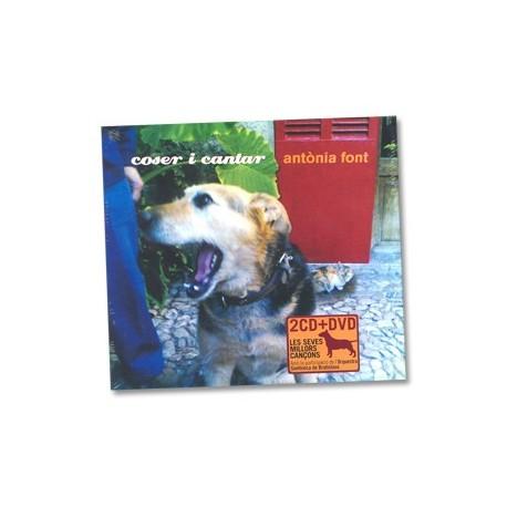 Doble CD+DVD Antònia Font - Coser i cantar