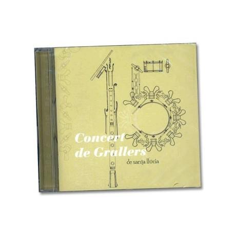 CD 15è Concert de Grallers Santa Llúcia