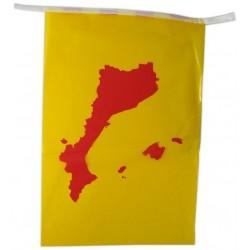 Tira 50m. de banderoles mapa PPCC plàstic