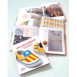 Llibre CENT ANYS D'ESTELADA, Un segle d'iconografia independentista