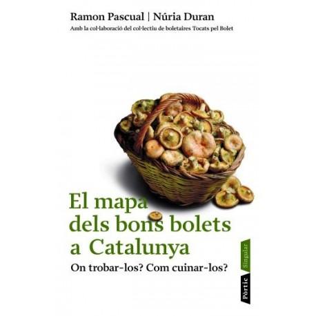 Llibre El mapa dels bons bolets a Catalunya