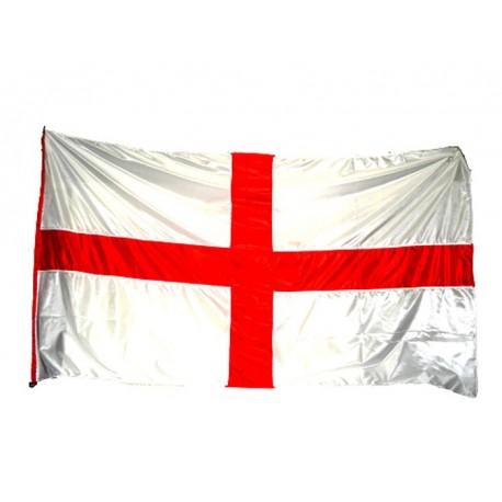 Bandera Creu de Sant Jordi gegant tipus màstil