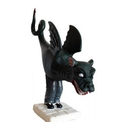 Figura de goma reproducció del Drac de Vilafranca