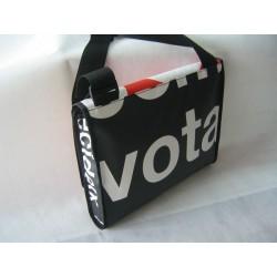 Bossa de lona reciclada banderoles Reus Decideix