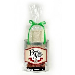 Llauna preparat Bou i arròs, l'àpat de la Festa Major de Reus
